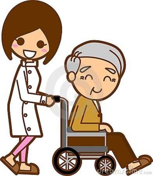 Resultado de imagem para idoso cadeirante desenho